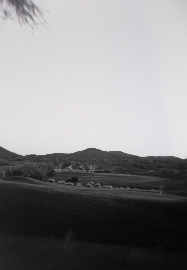 Holga GOlf course