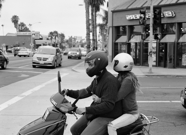 Moped man
